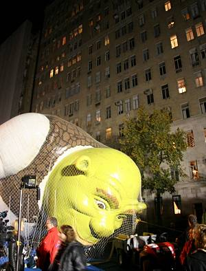 Shrek Pinned Down by Ian Gampon, on Flickr